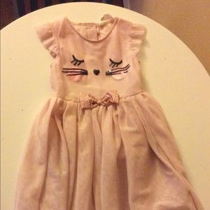 2-3 yrs Girly cat Dress by H& M